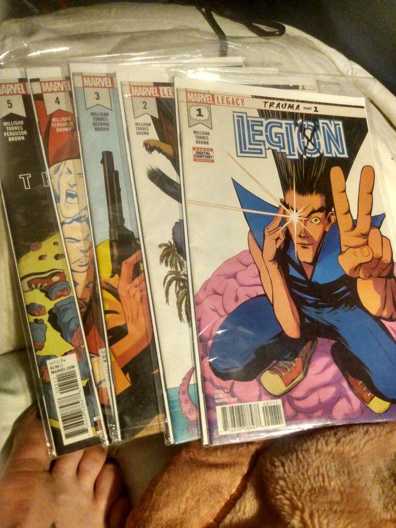 Marvel Legion #1-5