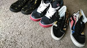 Nike SB Blazers size 9, Pumas (Black/Gold) size 8.5, Vans Sk8 High size 8.5 (it's a bundle) for Sale in Hyattsville, MD