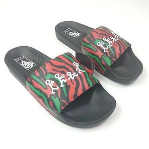 fa158e386df9 Vans x A Tribe Called Quest ATCQ SLIDE-ON Slides Men s 12 New Limited for