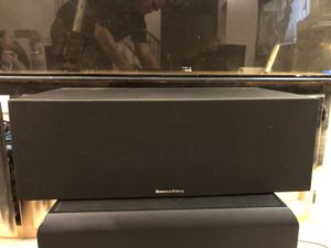 Photo Bowers and Wilkins HTM6 center channel surround