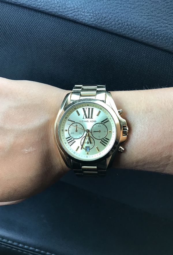 7e2277d82f0c Michael Kors Bradshaw Gold Tone Watch for Sale in Magnolia
