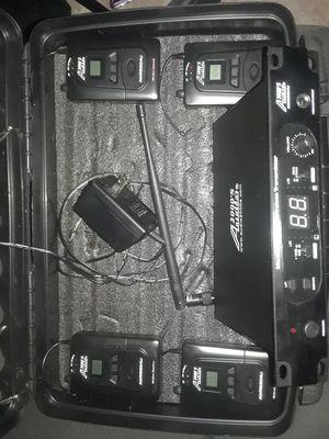 Setup of 4 in ear moniters for Sale in Kirkland, WA