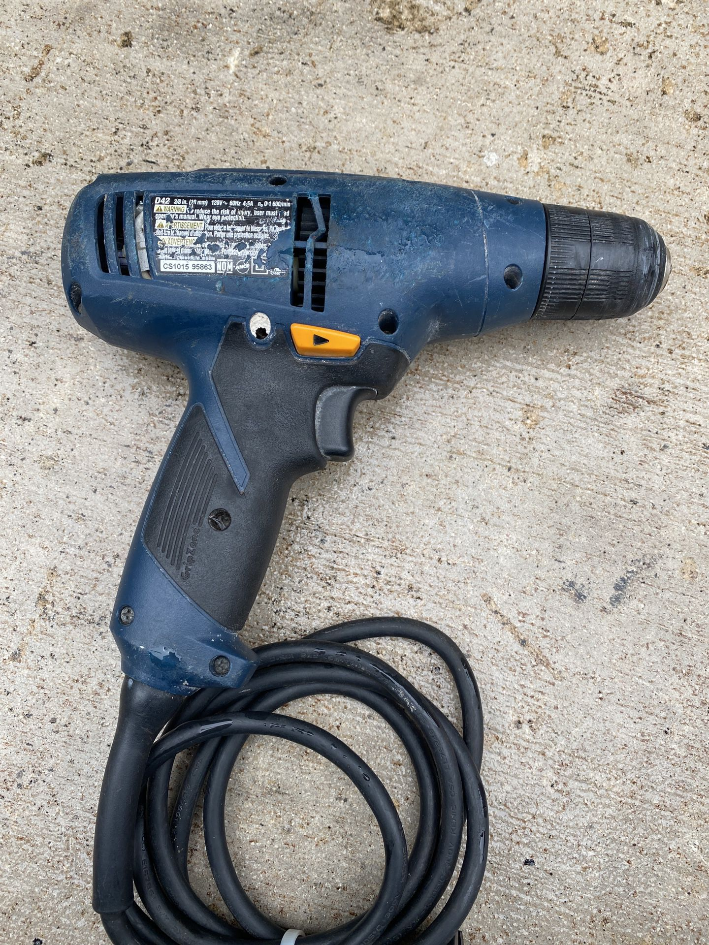 """3/8"""" electric drill"""