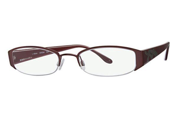 BCBG Max Azria Verona eyeglass Frames black & burgandy for Sale in ...