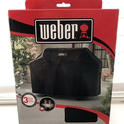 Weber Genesis II & LX 400 Series Premium Grill Cover, Black Thumbnail