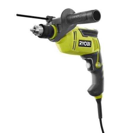 NEW RYOBI D620H 6.2 AMP CORDED 5/8 INCH VARIABLE SPEED HAMMER DRILL