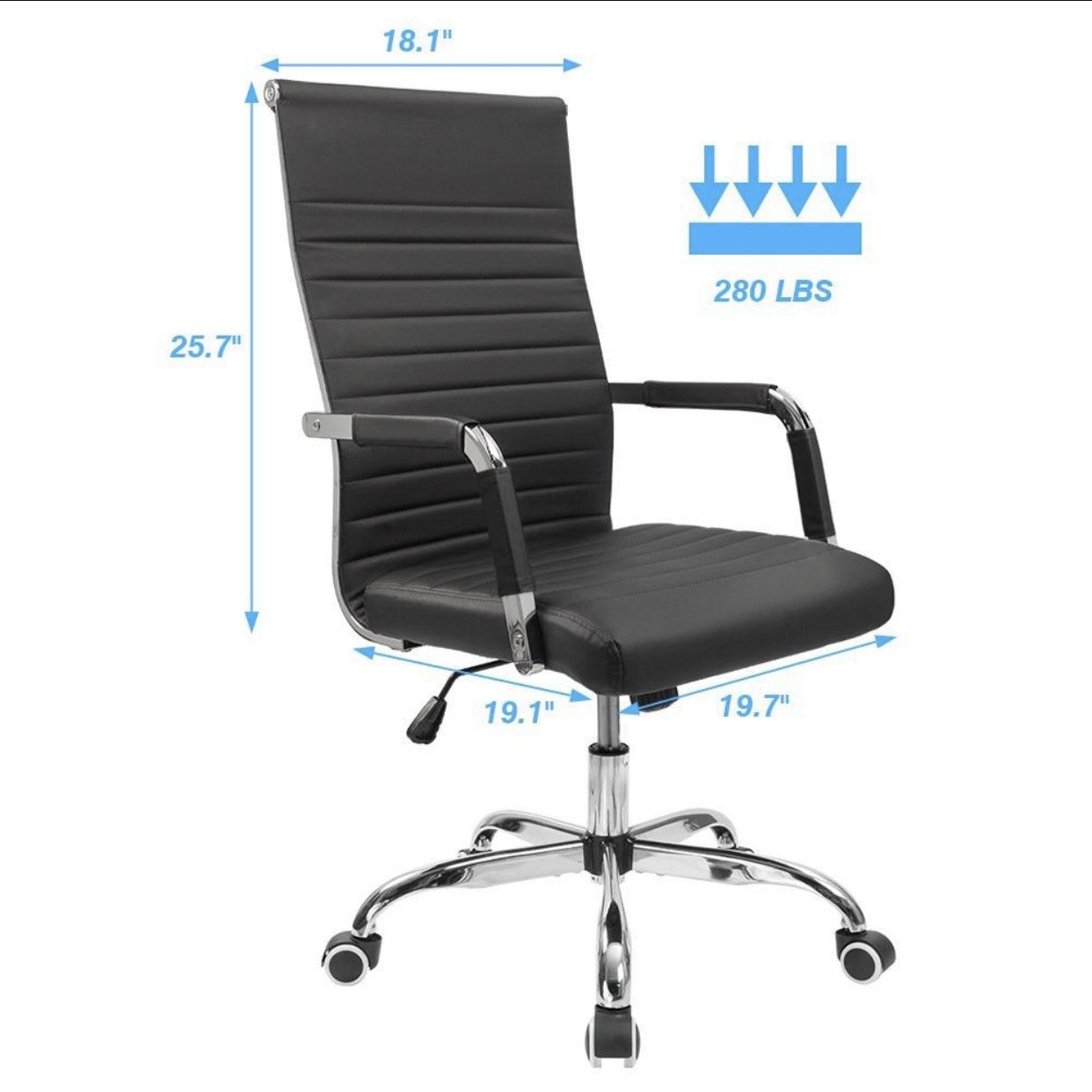 Brand New Contemporary Designer Mid-Back Computer Office Chair