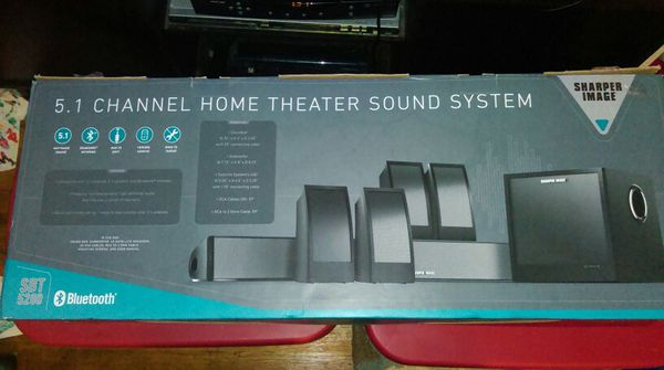 Last Day Sharper Image Sbt 5200 51 Channel Home Theater Sound