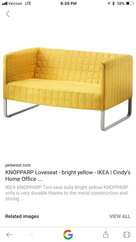 ikea yellow sofa for sale in san diego ca offerup