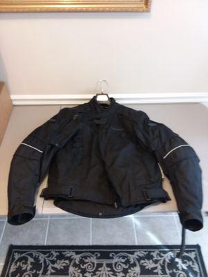 Fieldsheer Aquasport motorcycle jacket large for Sale in Elkridge, MD