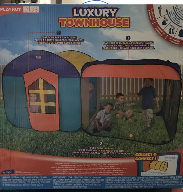 Indoor Outdoor Play Tent Luxury Townhouse For Sale In
