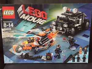 LEGO The Movie Super Cycle Chase 70808 Emmet + Wyldstyle for Sale in Ashburn, VA