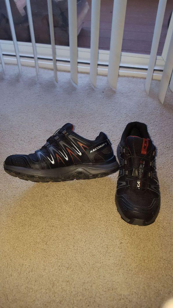 a2f71e9ecb53 Salomon XA COMP 7 Waterproof Trail Running Shoes Size 8.5 for Sale in  Kirkland