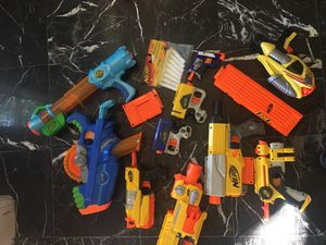 Nerf arsenal, small guns for Sale in Sugar Land, TX