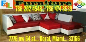 Sectionales differens materials and colors for Sale in Miami Springs, FL