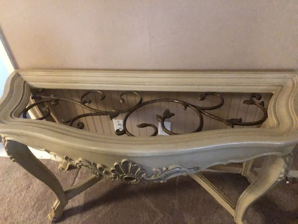 Shabby Chic Console Table For Sale In Schertz Tx Offerup