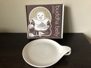 Buddha Belly Plates, Retired Design, New in Box, set of 2 for Sale in Washington, DC