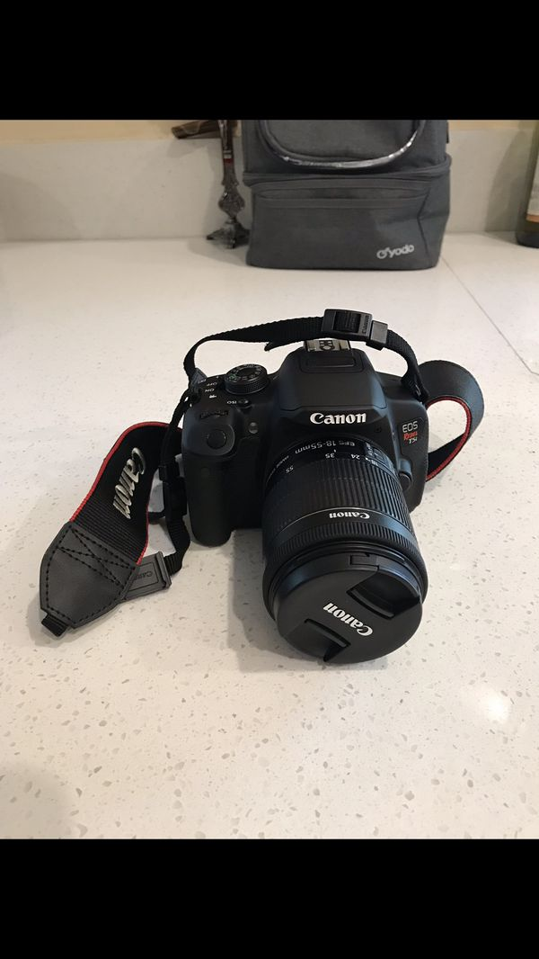 Canon EOS Rebel T5i Bundle, Body+2 Lenses+ Accessories for Sale in  Montclair, CA - OfferUp