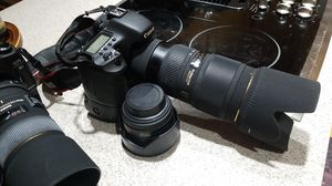 Canon 7D with 70-200mm and 50mm l lenses for Sale in Leesburg, VA