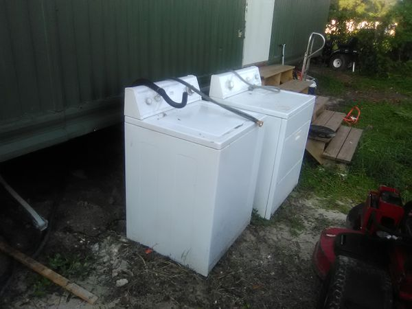 Washer And Dryer Set Estate Whirlpool Brand Liances In Lakeland Fl Offerup