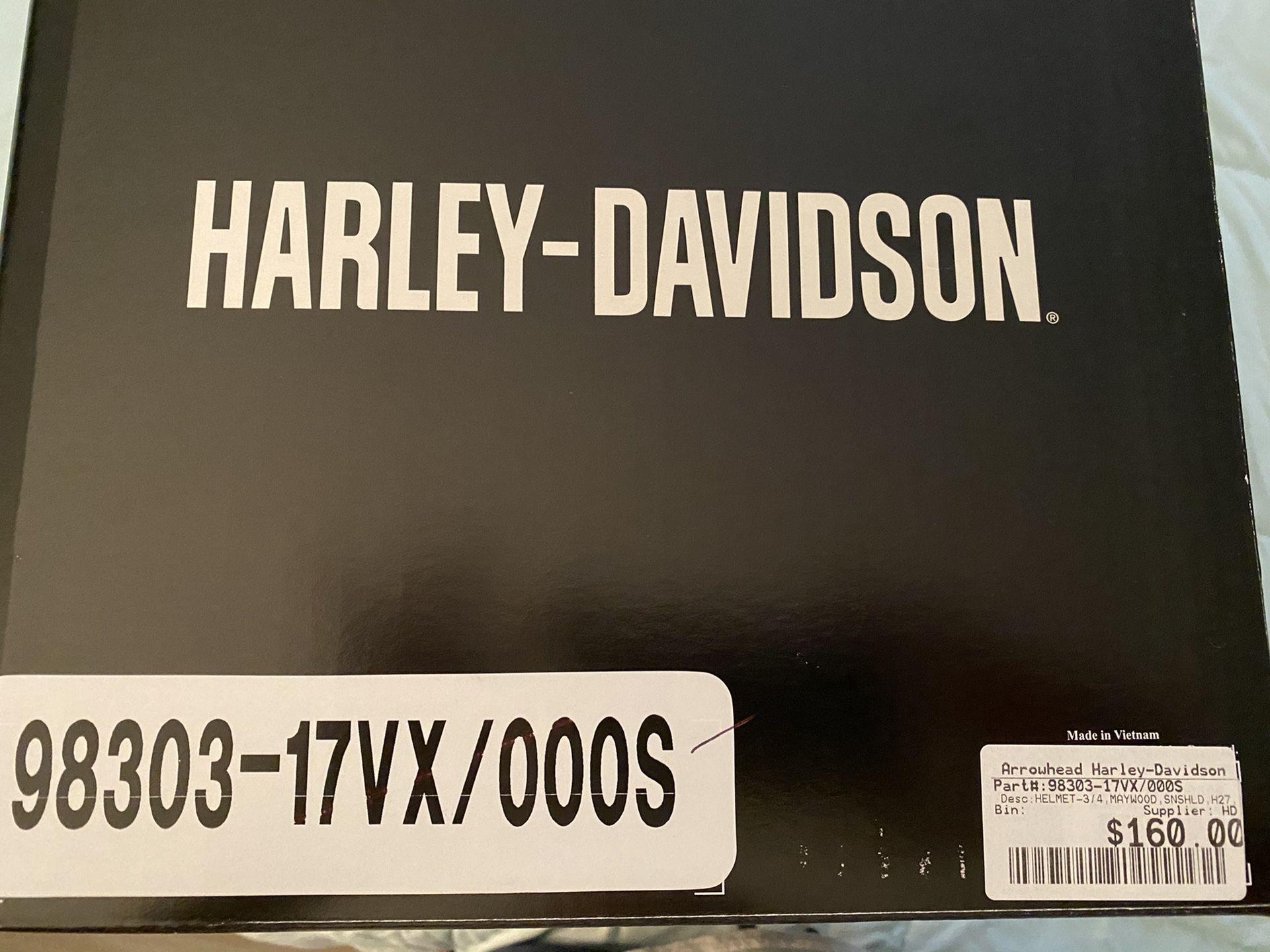 Women's Harley Davidson helmet
