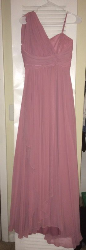 Blush color long chiffon dress for Sale in Oxon Hill, MD