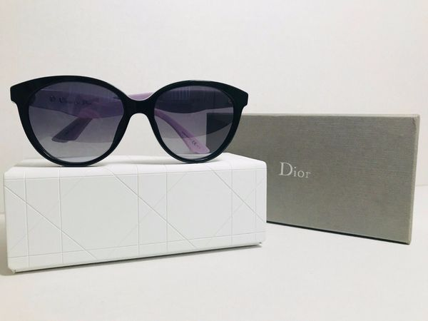 95f781931f02 Christian Dior Envol 3 Womens Sunglasses 55mm Black Blue Lilac LVBHD 55-16  145mm Made in Italy for Sale in Pembroke Pines