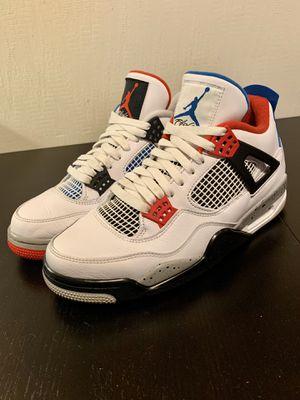 "Photo Nike x Air Jordan 4 Retro ""What the ??!"" 8.5 (U.S) Men's"