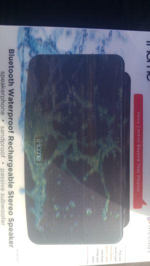 Ihome Bluetooth Waterproof Speaker W/ Passive Subwoofer (IBT39B) for Sale in Baldwin Hills, CA