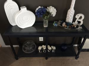 Blue Console table for Sale in Clifton Heights, PA