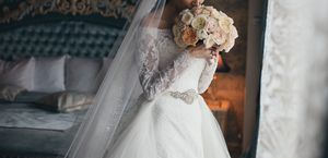 designer wedding dress. for Sale in Tampa, FL
