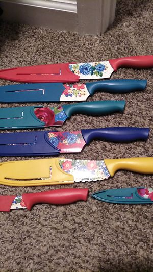 Photo Pioneer woman knives