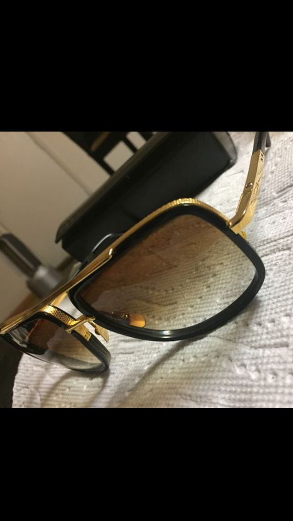 ff66be62a5b0 Dita Mach One Titanium DRX-2030B -59 Sunglasses 18k Gold   Black Frame  cazal Chanel for Sale in Fremont