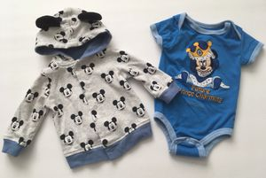 Disney Baby Boy Jacket And One Piece Bodysuit for Sale in Colorado Springs, CO
