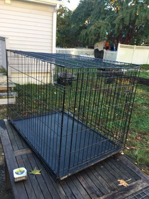 Large 2-door collapsible dog kennel for Sale in Churchton, MD