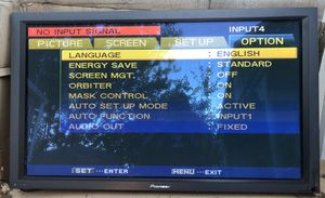 Pioneer Plasma Display Monitor for Sale in San Diego, CA