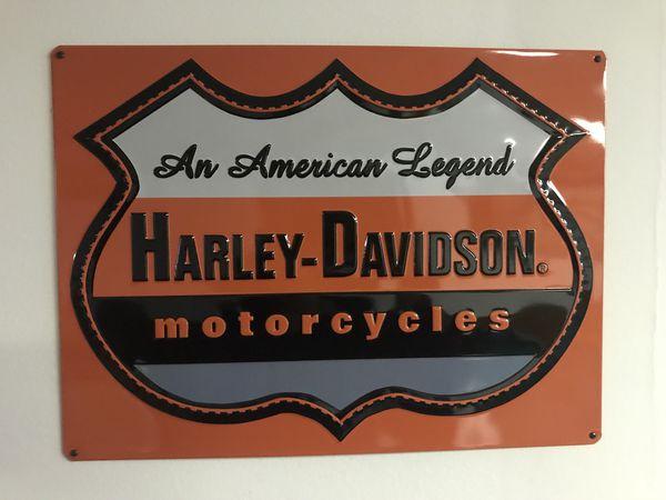 Harley Davidson Decor Signs For Sale In Cleveland OH OfferUp Inspiration Harley Davidson Signs Decor
