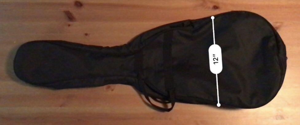 TKL Guitar soft case + small guitar gig bag