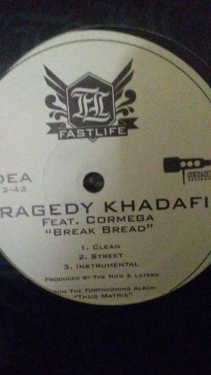 "Tragedy khadafi break beard 12"" single for Sale in El Paso, TX"