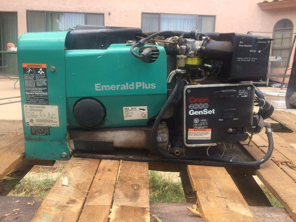 Onan Emerald Plus 4000 RV Generator For Sale In Yuma AZ OfferUp