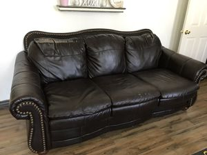 Brown sofa set *****FREE for Sale in Taylorsville, UT