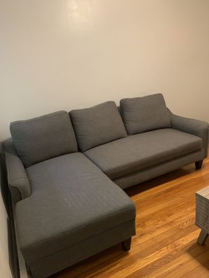 Prime New And Used Grey Sectional For Sale In Boston Ma Offerup Pabps2019 Chair Design Images Pabps2019Com
