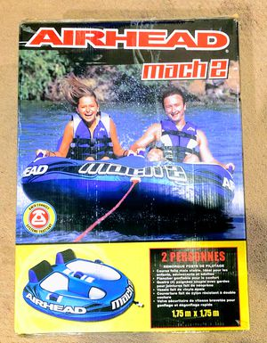 NEW! In BOX! Get ready with the AIRHEAD MACH 2! Towable intertube! for Sale in Portland, OR