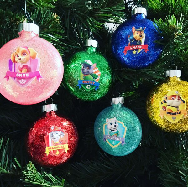 paw patrol christmas ornaments home garden in bel air md offerup - Paw Patrol Christmas Decorations