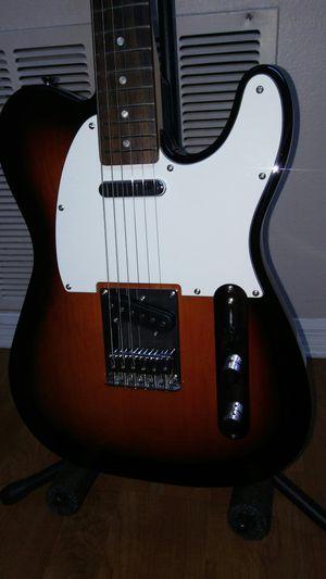 Fender telecaster brown sunburst perfect christmas present. for Sale in Apopka, FL