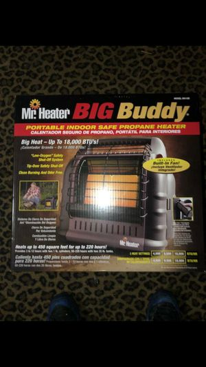 Mr Heater Big Buddy propane heater. Brand new never used (gas sensitivity) Retails $150 for Sale in Tacoma, WA