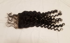 18 Brazilian human hair lace closure for Sale in Alexandria, VA