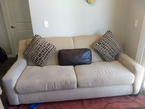 Sofa Set ...couch.... Very good condition....Bought 6 months back for sale  US