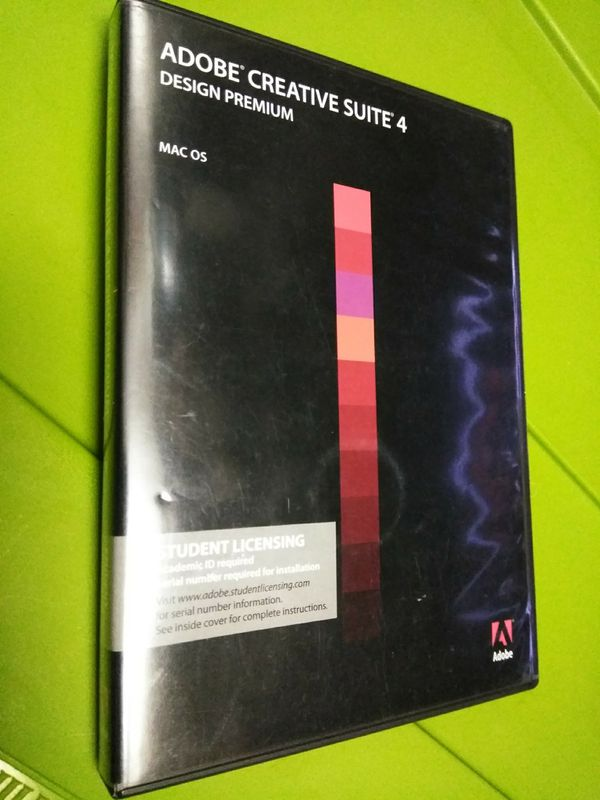 Adobe Creative Suite 4 (CS4) - academic edition for Sale in Scottsdale, AZ  - OfferUp