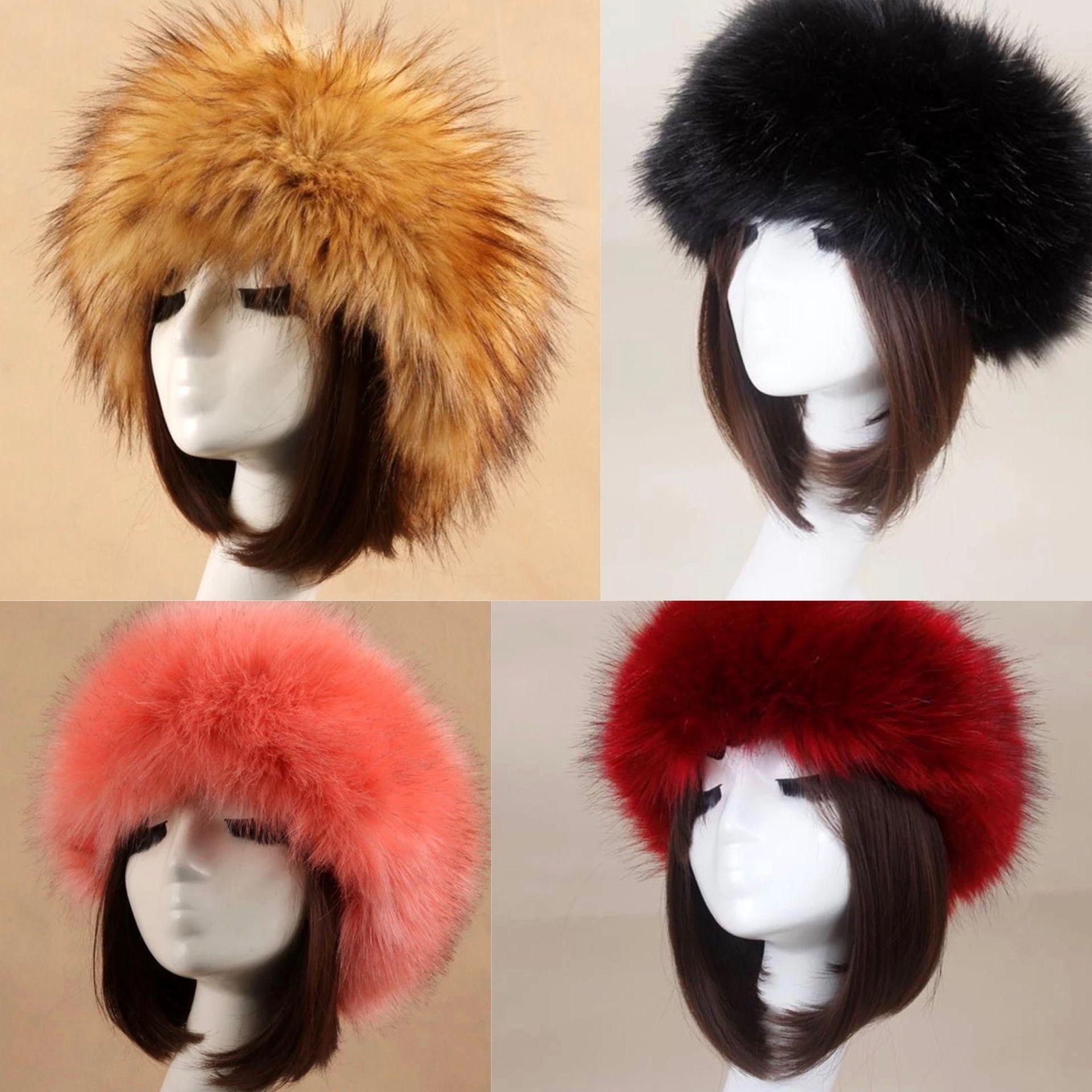 Fur headbands